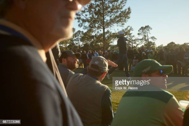 The Masters Jordan Spieth in action during Friday play at Augusta National Augusta GA CREDIT Erick W Rasco