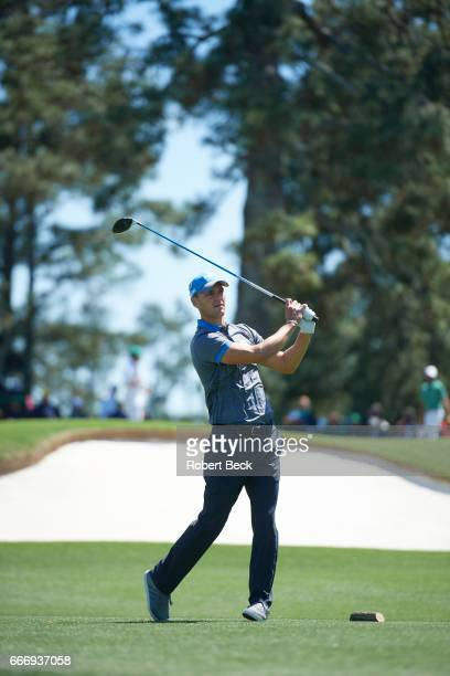 The Masters Martin Kaymer in action during Friday play at Augusta National Augusta GA CREDIT Robert Beck
