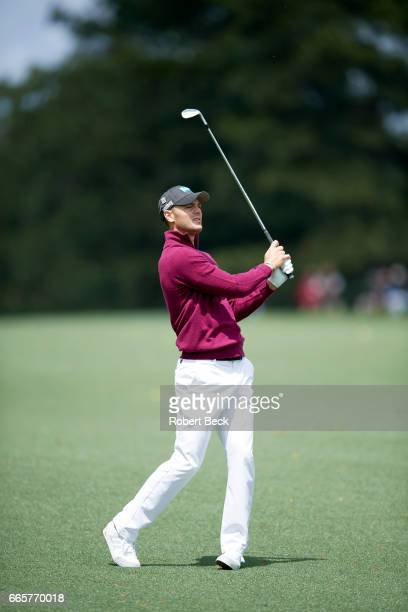 The Masters Martin Kaymer in action during Thursday play at Augusta National Augusta GA CREDIT Robert Beck