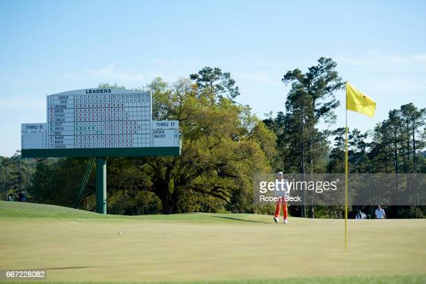 The Masters Rory McIlroy on No 18 green during Saturday play at Augusta National Augusta GA CREDIT Robert Beck