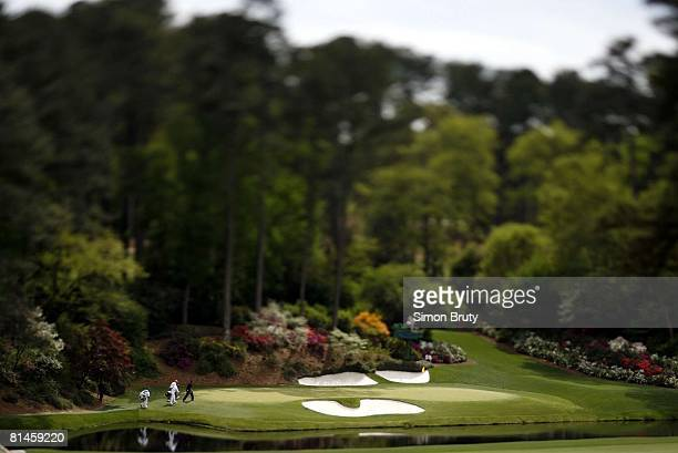 Golf The Masters Scenic view of No 12 green on Thursday at Augusta National Augusta GA 4/5/2007