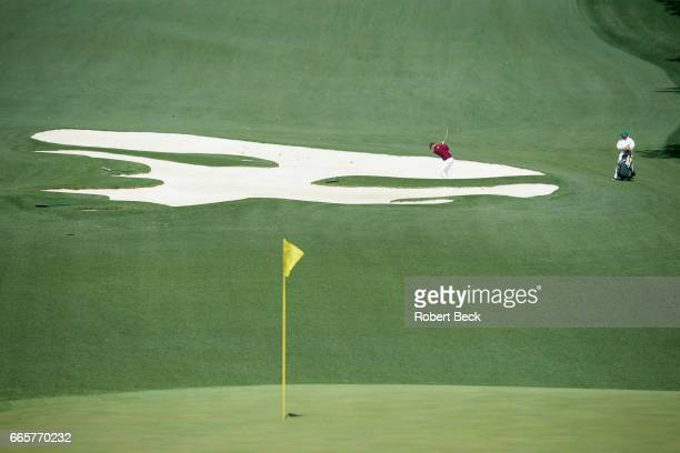 The Masters View of Martin Kaymer in action during Thursday play at Augusta National Augusta GA CREDIT Robert Beck