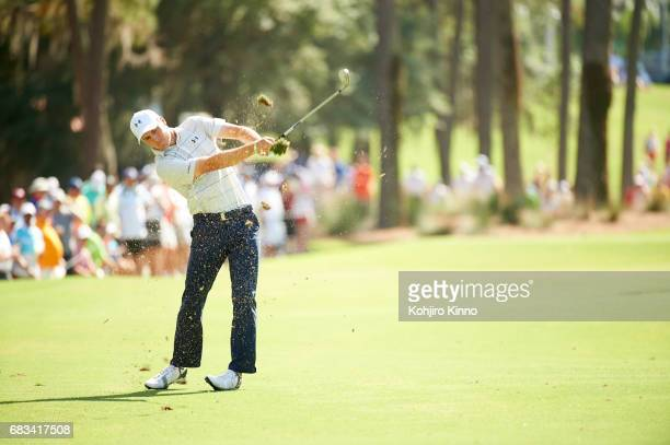 The Players Championship Jordan Spieth in action during Friday play at TPC Sawgrass Ponte Vedra Beach FL CREDIT Kohjiro Kinno