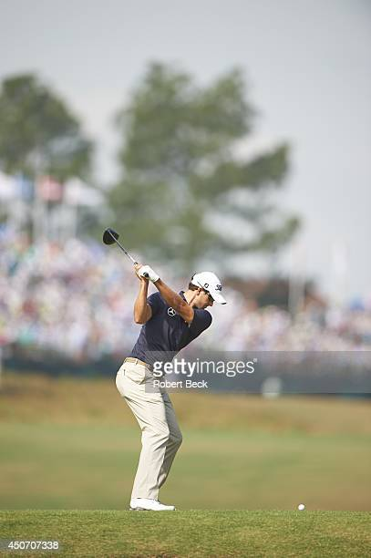 US Open Adam Scott in action drive from No 18 tee on Friday at Course No 2 of Pinehurst Resort Pinehurst NC CREDIT Robert Beck