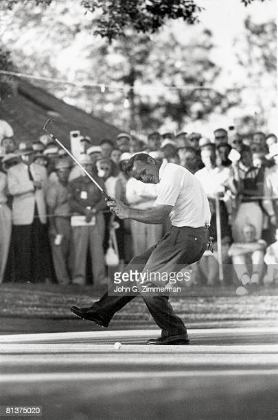 Golf US Open Arnold Palmer in action at Cherry Hills CC Denver CO 6/1/19606/30/1960