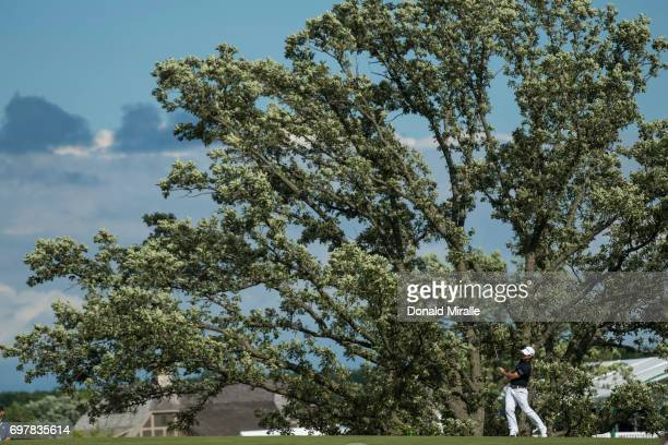 US Open Overall view of Brian Harman during Sunday play at Erin Hills GC Hartford WI CREDIT Donald Miralle