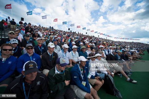 US Open View of spectators during Sunday play at Erin Hills GC Hartford WI CREDIT Donald Miralle