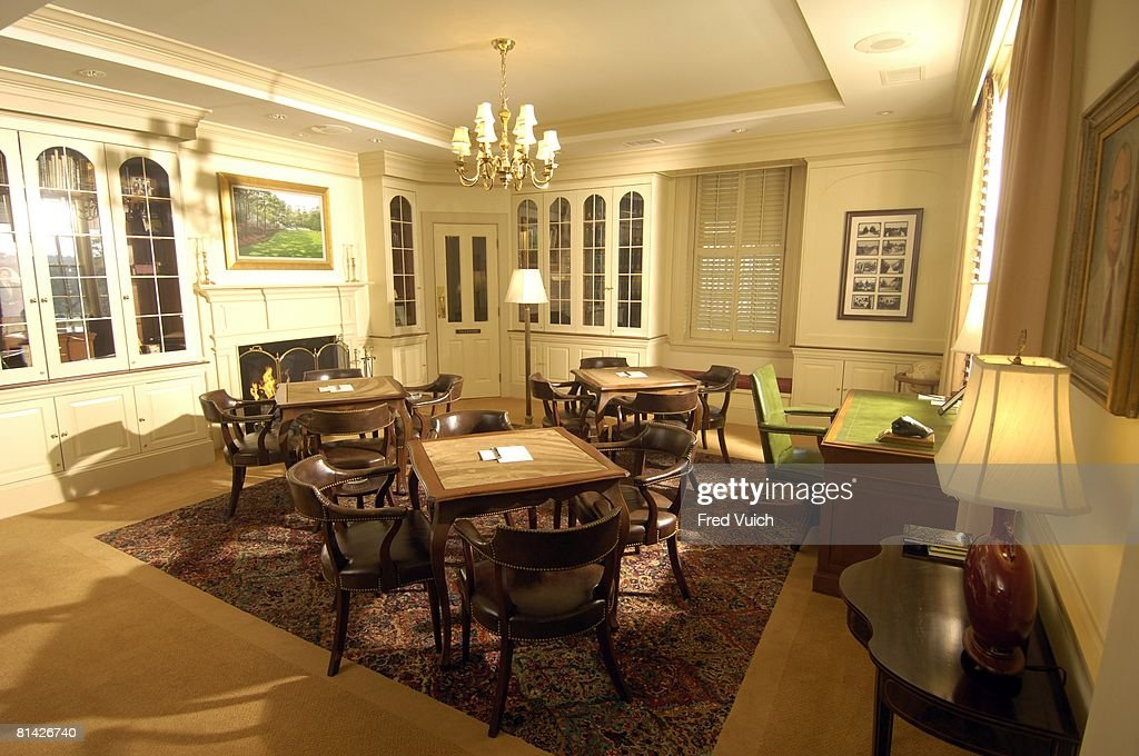 View Of Upstairs Dining Room In Clubhouse Augusta National GA 2