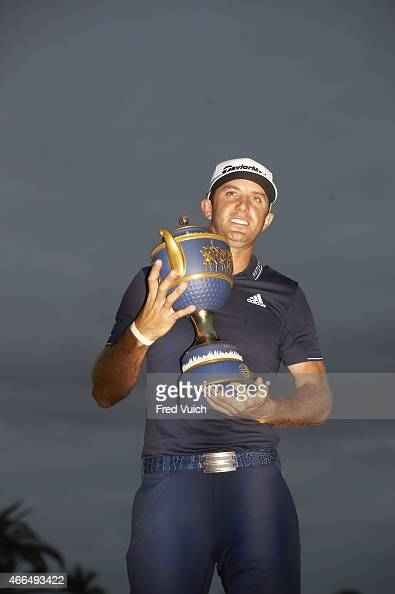 wgc cadillac championship view of dustin johnson victorious with gene. Cars Review. Best American Auto & Cars Review