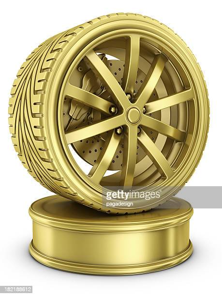 golf wheel - automotive award