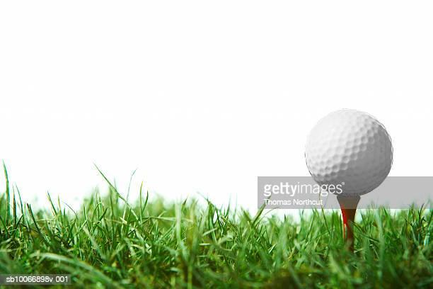 Golfball sur le tee-shirt