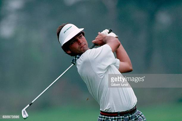 Golfer Emmanuel Dussart in Action