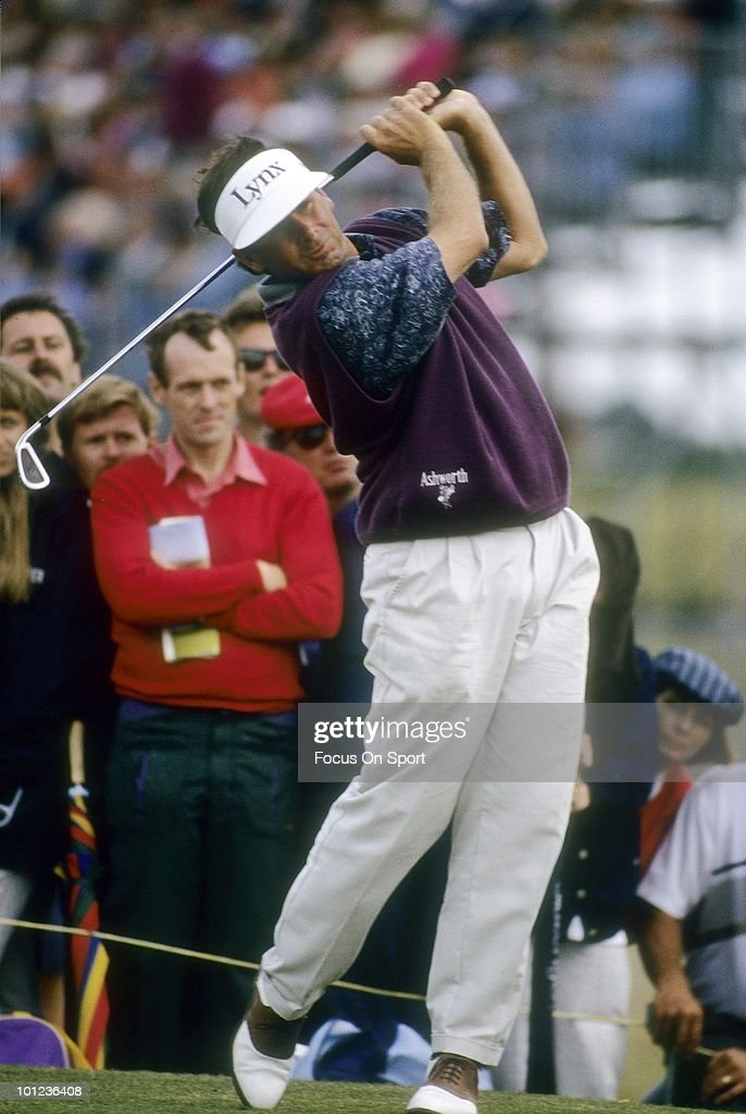 Golfer Fred Couples in action during play April, 1996 at the Masters at Augusta National Golf Club in Augusta, Georgia.