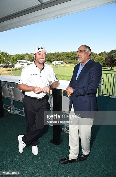 TOUR golfer Graeme McDowell and Mastercard Chief Marketing Communications Officer Raja Rajamannar join forces at The Barclays where Mastercard...