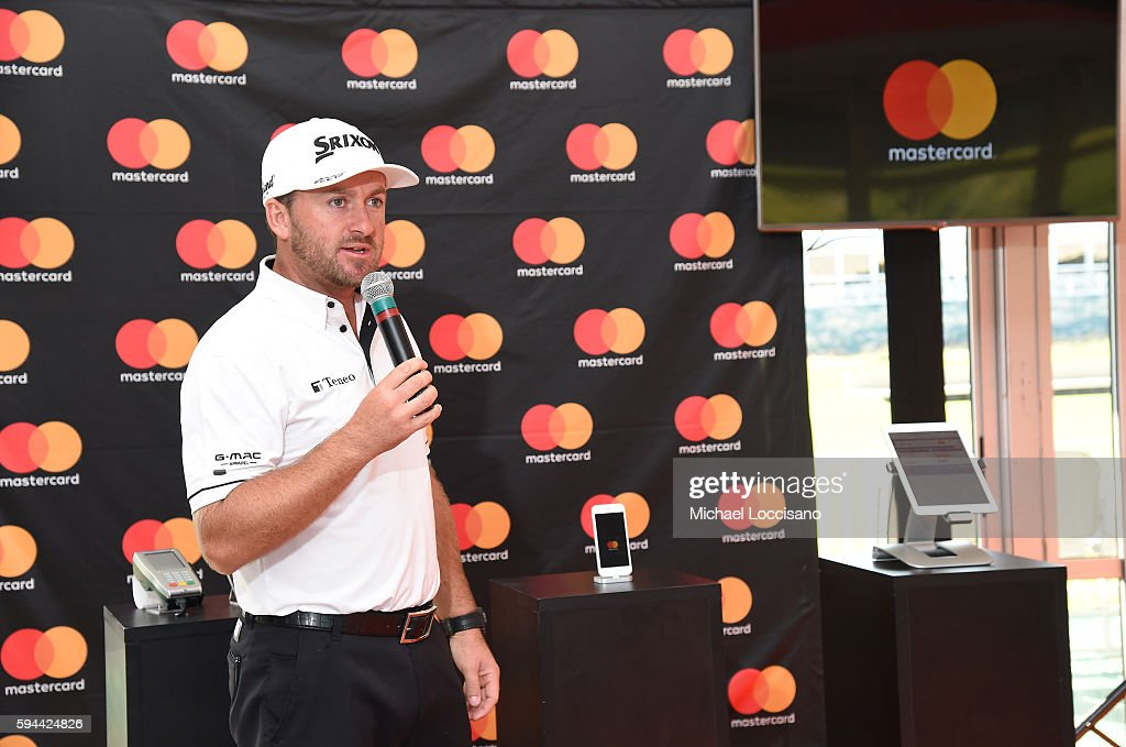 TOUR golfer Graeme McDowell teams up with Mastercard at The Barclays to demonstrate the ease of tapping to pay with Masterpass instore at Black...