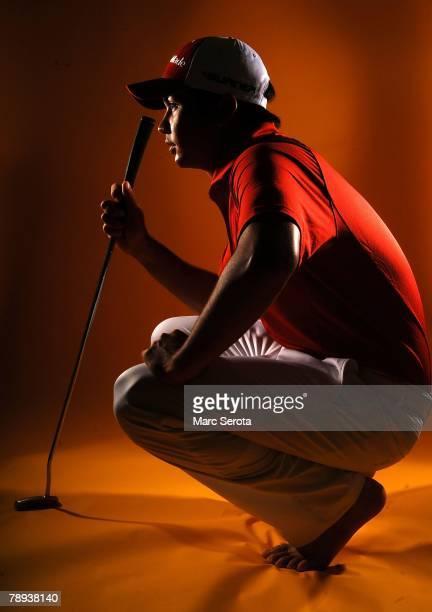 PGA golfer Jason Day poses for photos in Orlando Florida in November of 2007