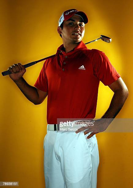 PGA golfer Jason Day poses for photos in Orlando Florida in November of 2007