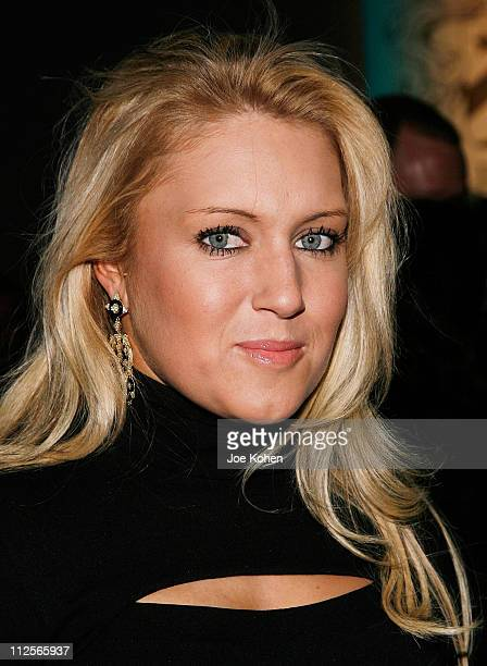Golfer Natalie Gulbis attends Abaete Fall 2008 during MercedesBenz Fashion Week at Bryant Park on February 2 2008 in New York City