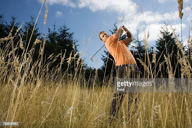 Golfer on the Course