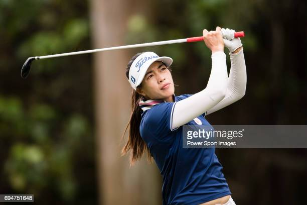 Golfer Panpan Yan of China during the 2017 Hong Kong Ladies Open on June 10 2017 in Hong Kong Hong Kong