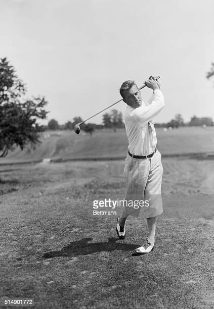 Golfer Roland Hancock