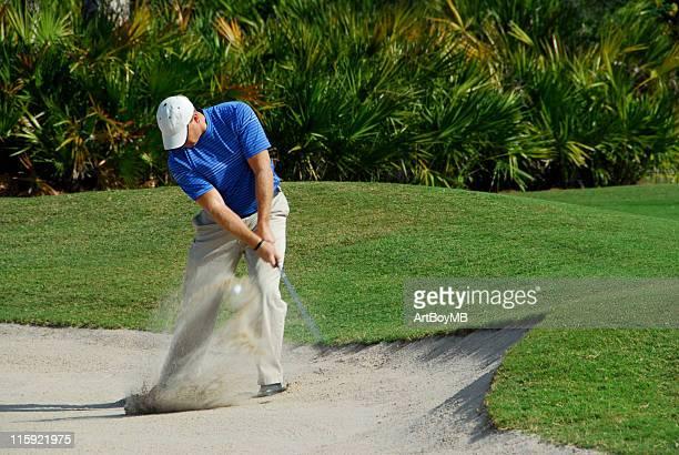 Golfer Sandtrap