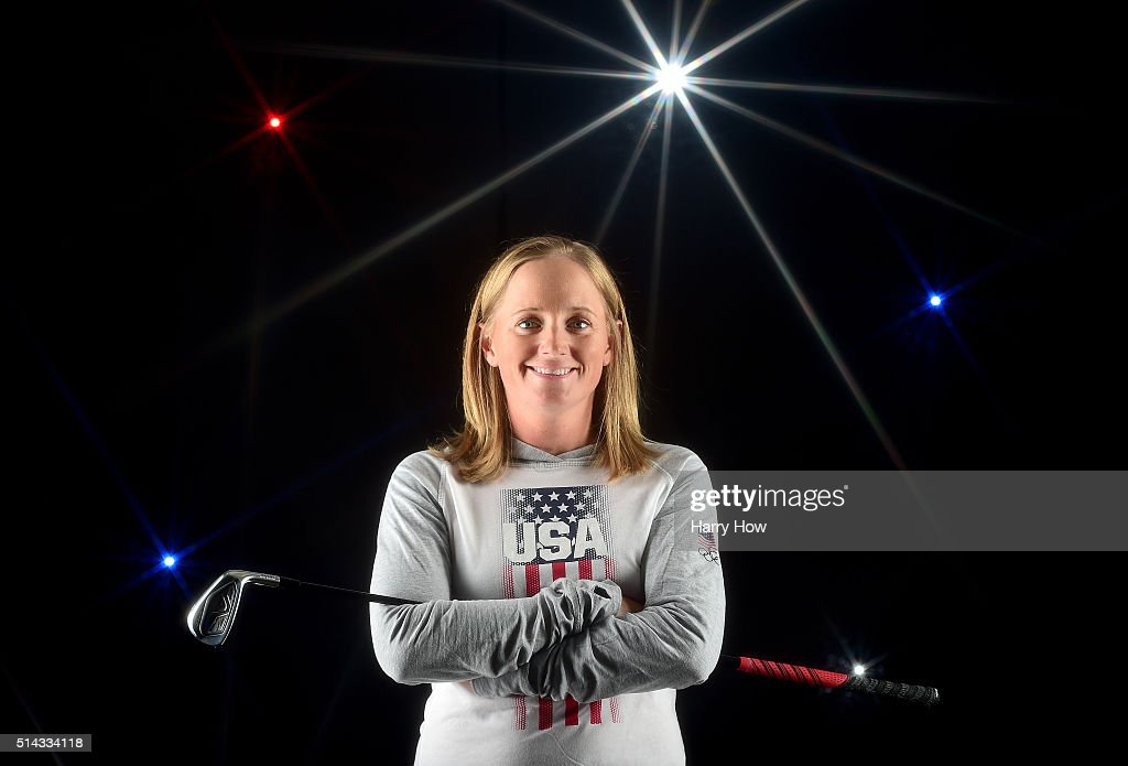 Golfer <a gi-track='captionPersonalityLinkClicked' href=/galleries/search?phrase=Stacy+Lewis+-+Golfer&family=editorial&specificpeople=4217318 ng-click='$event.stopPropagation()'>Stacy Lewis</a> poses for a portrait at the 2016 Team USA Media Summit at The Beverly Hilton Hotel on March 7, 2016 in Beverly Hills, California.
