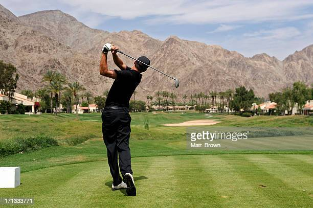 Golfspieler swing