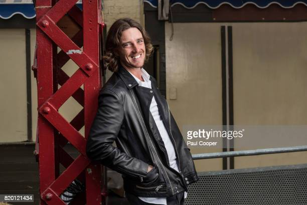 Golfer Tommy Fleetwood is photographed for the Sunday Times on July 14 2017 in Southport England