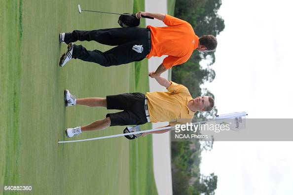 Golfers compete during the Division III Men's Golf Championship held at the PGA Golf Club in Port St Lucie FL Preston Mack/NCAA Photos via Getty...