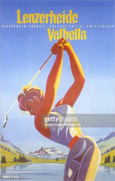 Golfing in Switzerland Lenzerheide Valbella Graubünden