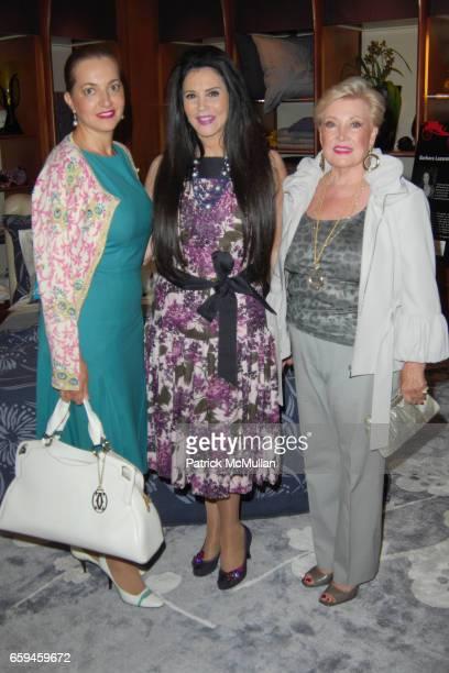 Goli Parstabar Barbara Lazaroff and Simone Katzef attend FRETTE Beverly Hills Designer Event at FRETTE on September 10 2009 in Beverly Hills...