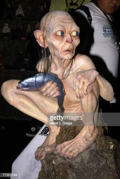 Gollum from 'Lord Of The Rings'