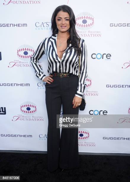 Golnesa 'GG' Gharachedaghi arrives at the annual Brent Shapiro Foundation For Alcohol and Drug Prevention Summer Spectacular at a Private Residence...