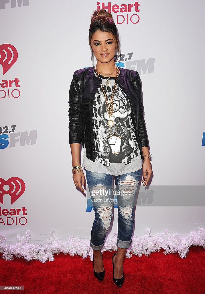 Golnesa 'GG' Gharachedaghi attends KIIS FM's Jingle Ball at Staples Center on December 6, 2013 in Los Angeles, California.