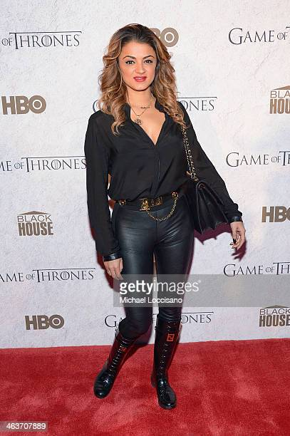 Golnesa 'GG' Gharachedaghi attends the HBO And Blackhouse Foundation 'Game Of Thrones' Sundance Soiree on January 18 2014 in Park City Utah