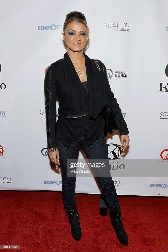 Golnesa 'GG' Gharachedaghi attends the Kaiio's launch event at Station Hollywood at W Hollywood Hotel on October 17, 2013 in Hollywood, California.