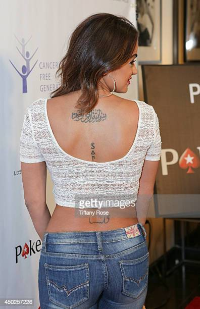 Golnesa 'GG' Gharachedaghi attends the Tower Cancer Research Foundation's 'Cancer Free Generation' Celebrity Poker Tournament on June 7 2014 in Los...
