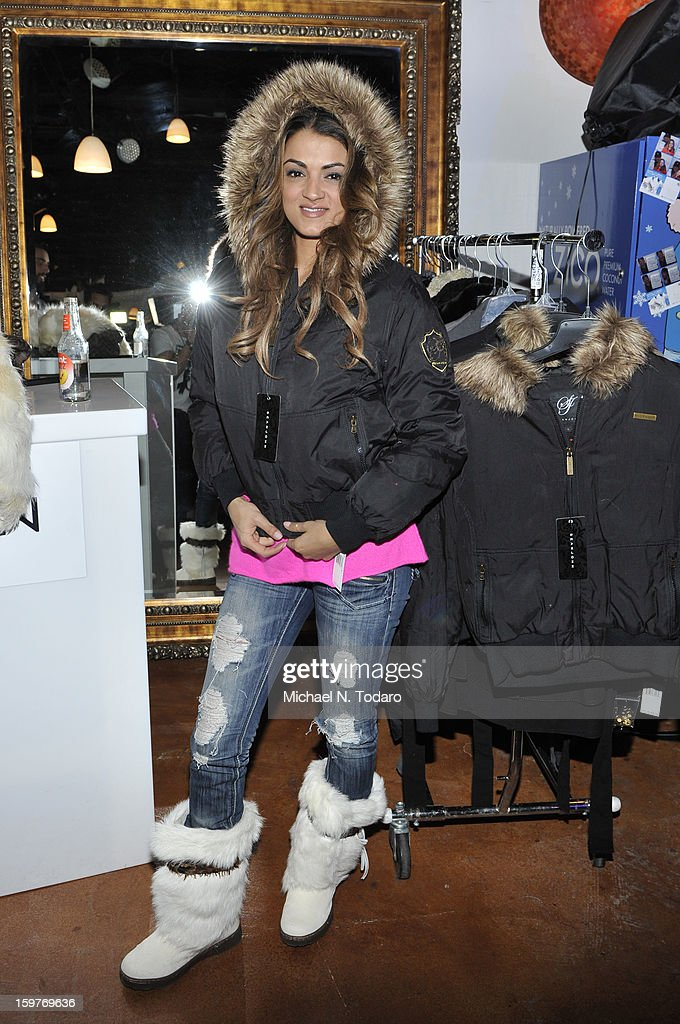 Golnesa GG Gharachedaghi attends the TR Suites Daytime Lounge - Day 2 on January 19, 2013 in Park City, Utah.