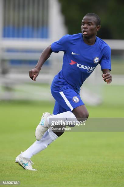 Golo Kante of Chelsea during a friendly match between Chelsea and Fulham at Chelsea Training Ground on July 15 2017 in Cobham England