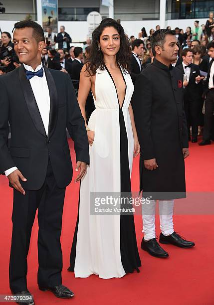 Golshifteh Farahani and guests attend the 'Sicario' Premiere during the 68th annual Cannes Film Festival on May 19 2015 in Cannes France