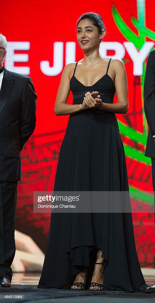 <a gi-track='captionPersonalityLinkClicked' href=/galleries/search?phrase=Golshifteh+Farahani&family=editorial&specificpeople=5535488 ng-click='$event.stopPropagation()'>Golshifteh Farahani</a> attends the Award Ceremony of the 13th Marrakech International Film Festival on December 7, 2013 in Marrakech, Morocco.