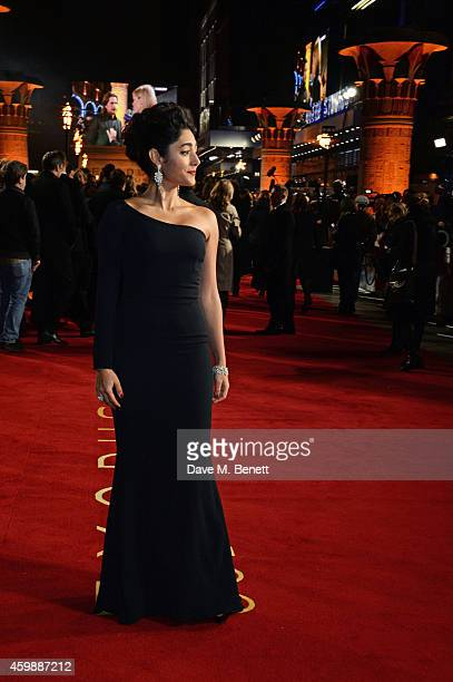 Golshifteh Farahani attends the World Premiere of 'Exodus Gods and Kings' at Odeon Leicester Square on December 3 2014 in London England
