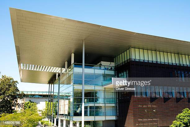 GoMA, Gallery of Modern Art, part of the Queensland Cultural Centre at South Bank.