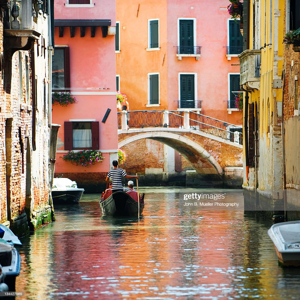 Gondola at Venice : Stock Photo