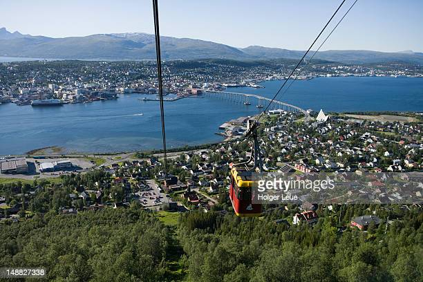 Gondola to Storsteinen Mountain.