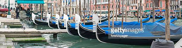 Gondolas at Rialto Venice