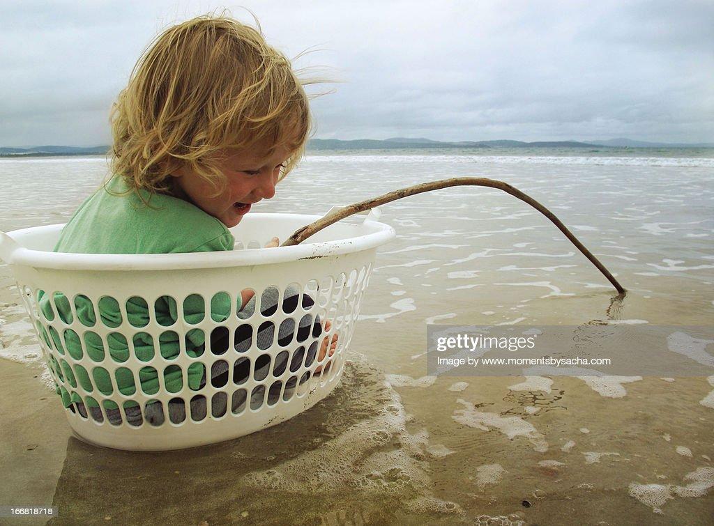 Gone Fishing... : Stock Photo