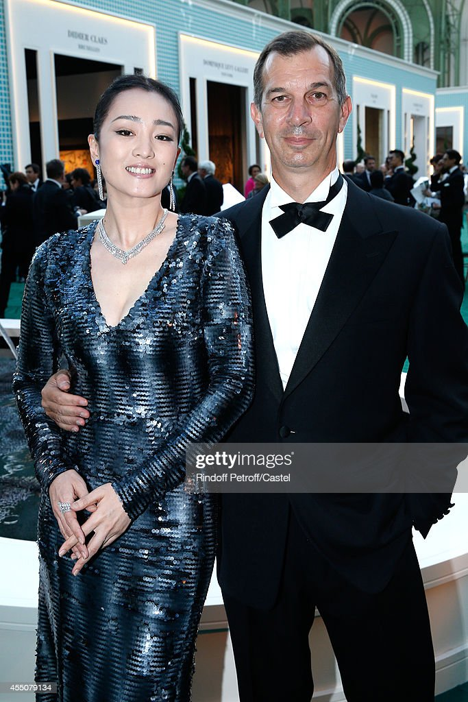 <a gi-track='captionPersonalityLinkClicked' href=/galleries/search?phrase=Gong+Li&family=editorial&specificpeople=207191 ng-click='$event.stopPropagation()'>Gong Li</a> and Philippe Leopold Metzger attend the 27th 'Biennale des Antiquaires' Pre Opening at Le Grand Palais on September 9, 2014 in Paris, France.