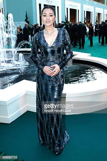 Gong Li attends the 27th 'Biennale des Antiquaires' Pre Opening at Le Grand Palais on September 9 2014 in Paris France